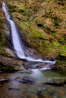 White Lady Waterfall,Lydford